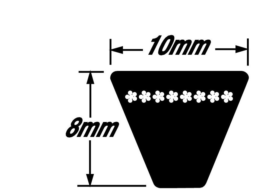 Metric V-Belt 10 X 487 SPZ487